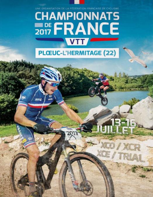 Championnat de France VTT- Ploeuc Sur Lié _ 13 au 16 Juillet 2017
