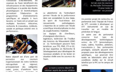Marseille Technoteam 13 : un projet aux multiples objectifs – Filière Sport