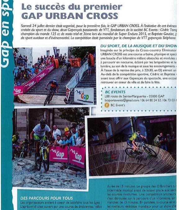 Gap en Sport -article paru le 27 Juillet 2017